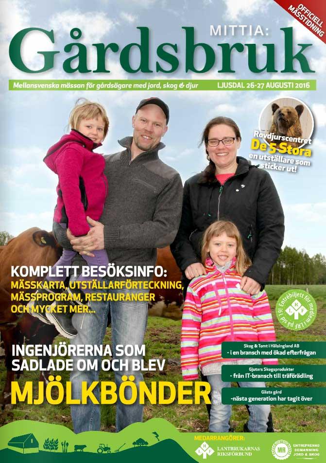 Mässtidning Mittia Gårdsbruk 2016