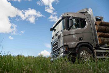 Provkör skogens konung – Scanias nya lastbilsgeneration