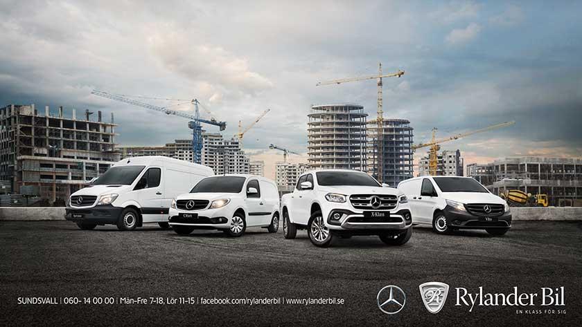 Provkörning Mercedes