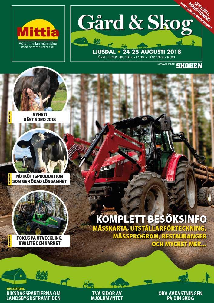 Mässtidning Mittia Gård & Skog 2018