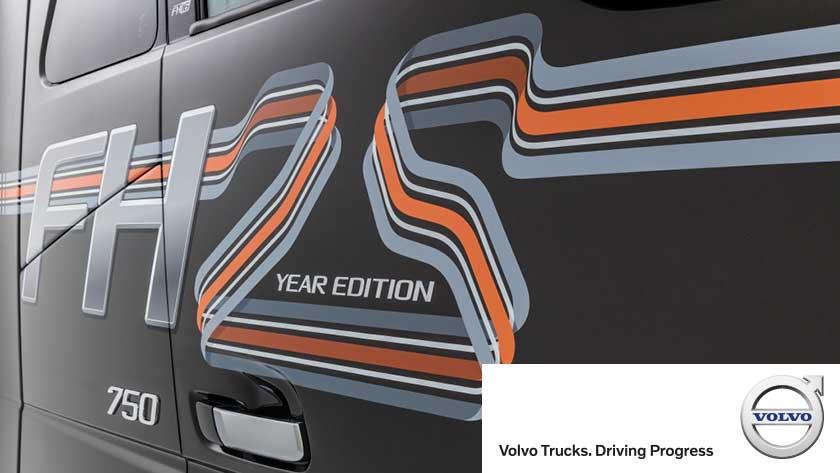 Provkör Volvo FH16 jubileumsbil!